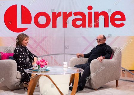 Stock Image of Lorraine Kelly and Brendan O'Carroll
