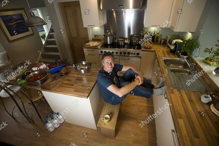 Chef Nick Nairn at home in Stirlingshire, Scotland.
