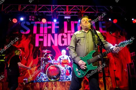 Editorial picture of Stiff Little Fingers 'Inflammable Material 40th Anniversary tour', o2 Kentish Town Forum, London, UK - 24 Mar 2019