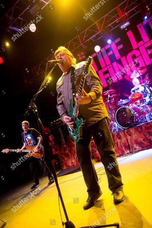 Stiff Little Fingers - Ian McCallum, Jake Burns and Steve Grantley