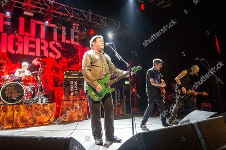 Stiff Little Fingers - Steve Grantley, Jake Burns, Ian McCallum and Ali McMordie
