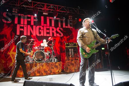 Editorial image of Stiff Little Fingers 'Inflammable Material 40th Anniversary tour', o2 Kentish Town Forum, London, UK - 24 Mar 2019