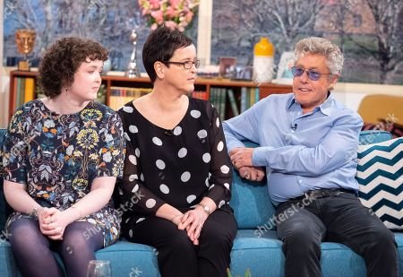 Phoebe Moore, Suzanne Moore and Roger Daltrey