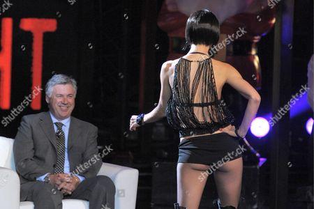 Editorial picture of 'Chiambretti Night' TV Programme, Milan, Italy - 13 Oct 2009