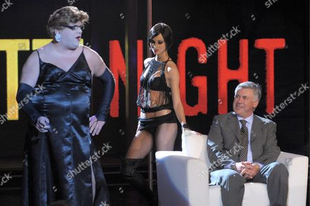 Editorial image of 'Chiambretti Night' TV Programme, Milan, Italy - 13 Oct 2009