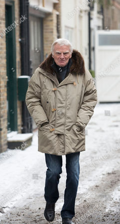 Max Mosley Pictured Today Near His Knightsbridge Home. See Story.