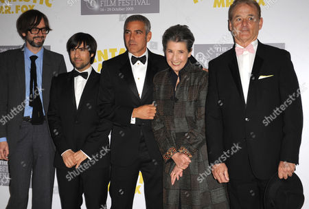Jarvis Cocker, Jason Schwartzman, George Clooney, Felicity Dahl and Bill Murray