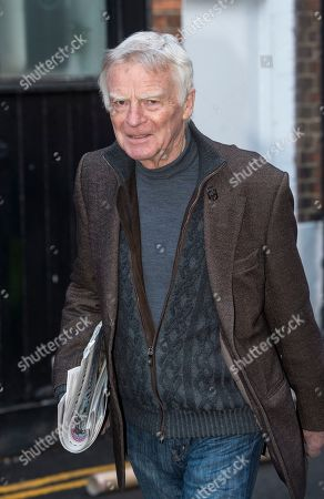 Editorial photo of Max Mosley Former Formula One Tycoon Leaving His Home In West London Today (monday) Picture David Parker 05/03/2018.