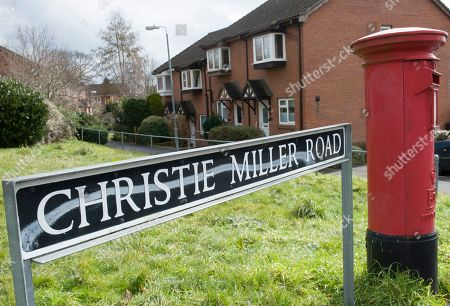 Stock Picture of Christie Miller Road Home Of Former Soviet Spy Sergey Skripal Who Was Allegedly Poisoned In Salisbury By An Unknown Substance Along With His Daughter Yulia Skripal.