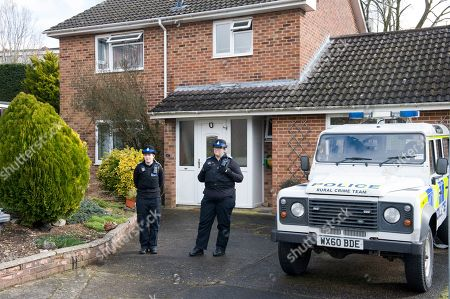 Christie Miller Road Home Of Former Soviet Spy Sergey Skripal Who Was Allegedly Poisoned In Salisbury By An Unknown Substance Along With His Daughter Yulia Skripal.
