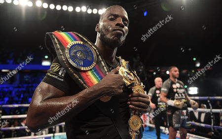 Lawrence Okolie after the fight