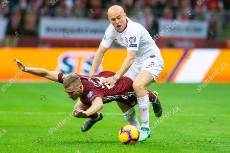 Editorial photo of Poland v Latvia, Euro 2020 Qualifiying Round Group D, Football, Warsaw, Poland - 24 Mar 2019