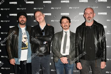 Editorial image of 'Gomorra 4' TV show photocall, Rome, Italy - 25 Mar 2019