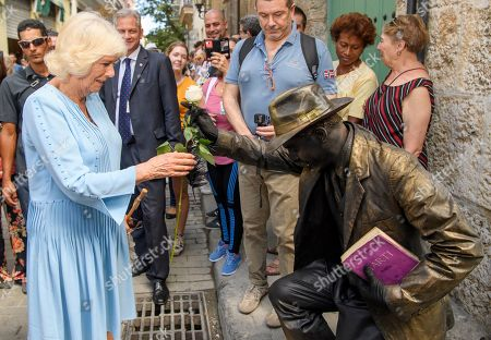 Editorial image of Prince Charles and Camilla Duchess of Cornwall Caribbean tour, Cuba - 25 Mar 2019