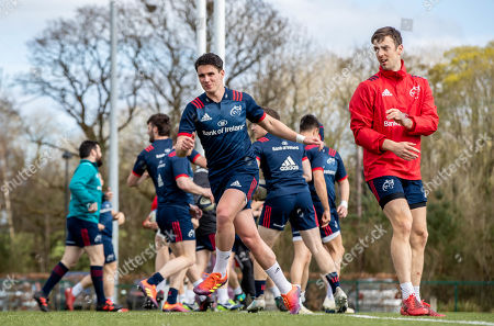 Joey Carbery and Darren Sweetnam