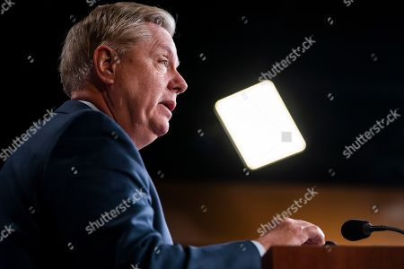 Editorial image of Senator Graham on Special Counsel's report that did not find sufficient evidence that Trump colluded with Russia, Washington, USA - 25 Mar 2019