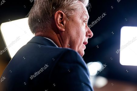 Editorial picture of Senator Graham on Special Counsel's report that did not find sufficient evidence that Trump colluded with Russia, Washington, USA - 25 Mar 2019