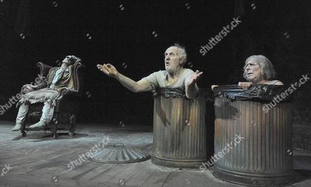 Mark Rylance ( Hamm ) Tom Hickey ( Nagg ) Miriam Margolyes ( Nell )