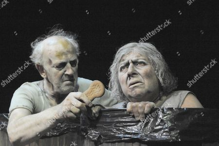 Editorial picture of 'Endgame' Play by Samuel Beckett performed at the Duchess Theatre, London, Britain - 14 Oct 2009