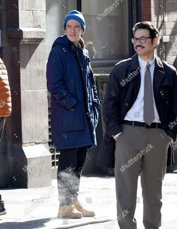 Editorial image of 'Morbius' on set filming, Manchester, UK - 25 Mar 2019