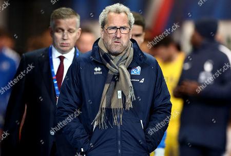 Iceland Manager Erik Hamren.