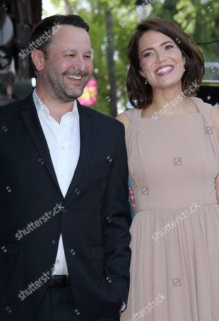 Dan Fogelman and Mandy Moore