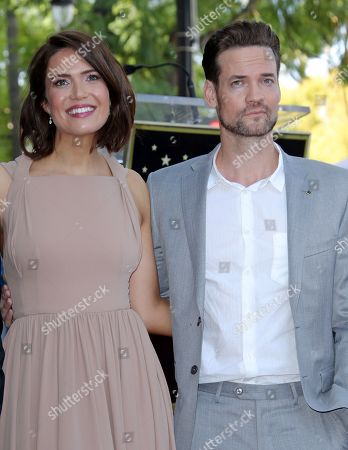 Mandy Moore and Shane West