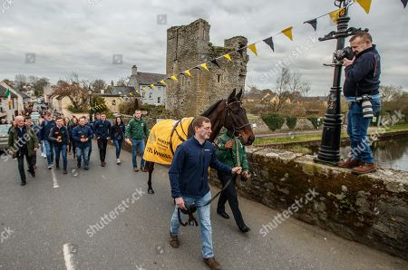 Editorial picture of 2019 Bulmers Cheltenham Gold Cup Winner Al Boum Photo Parade, Leighlinbridge, Co. Carlow  - 25 Mar 2019