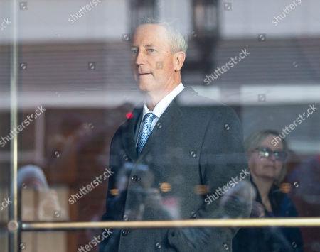 Editorial image of Martin Fox of Houston Texas at Federal Court Boston, USA - 25 Mar 2019