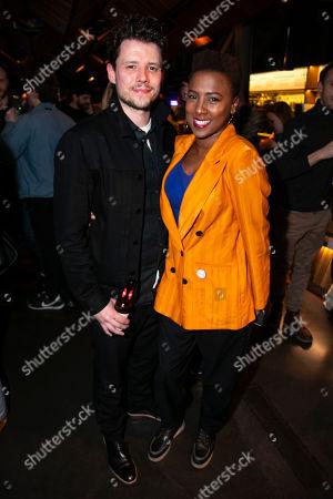Sam Yates (Director) and Jade Anouka (Bea)