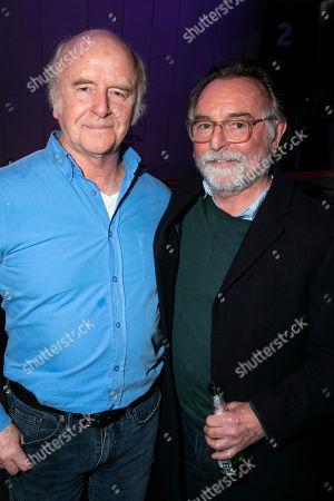 Mark Lambert (David) and Ron Cook