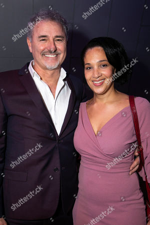 Stock Image of Simon Bowman and Claudia Cadette (Phlebotomist/Citizen)