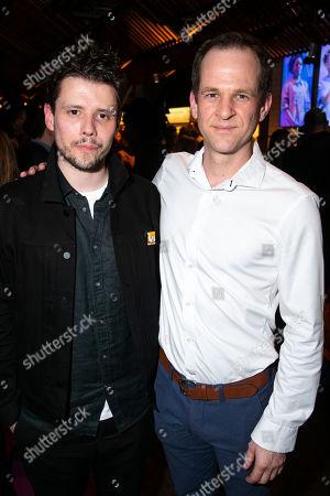 Sam Yates (Director) and Edward Wolsteinholme (Phlebotomist/Gambler)