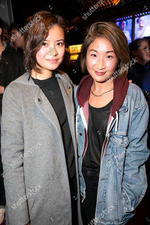 Katie Leung and Kae Alexander