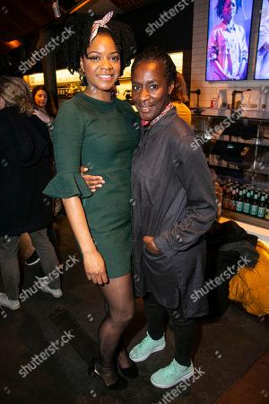 Kiza Deen (Char) and Jacqueline Boatswain