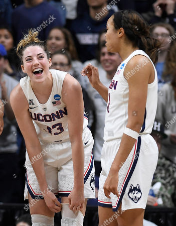 Katie Lou Samuelson, Napheesa Collier. Connecticut's Katie Lou Samuelson, left, and Connecticut's Napheesa Collier during the second half of a second-round women's college basketball game in the NCAA tournament, in Storrs, Conn