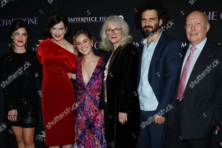 Editorial image of 'The Chaperone' film premiere, Arrivals, New York, USA - 25 Mar 2019