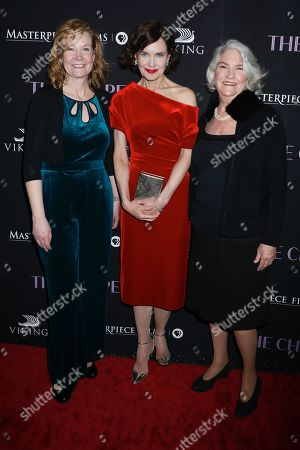 Laura Moriarty, Elizabeth McGovern and Rebecca Eaton