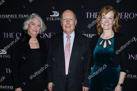 Rebecca Eaton, Jullian Fellowes, Laura Moriarty