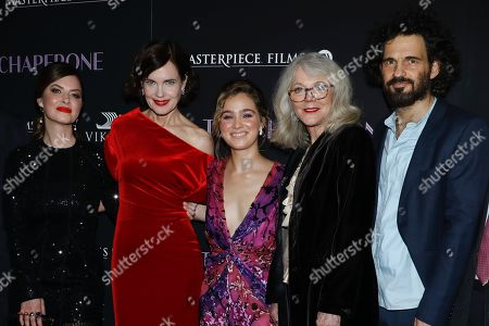 Stock Picture of Victoria Hill, Elizabeth McGovern, Haley Lu Richardson, Blythe Danner and Geza Rohrig