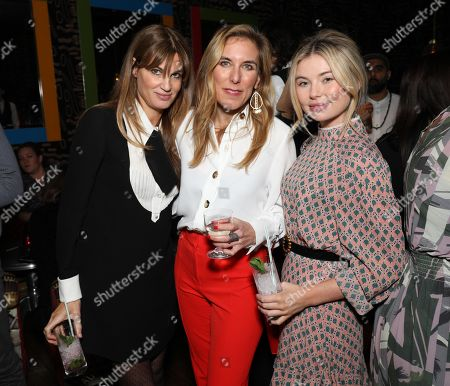 Jemima Goldsmith, Producer, Director Amy Berg and Georgia Toffolo