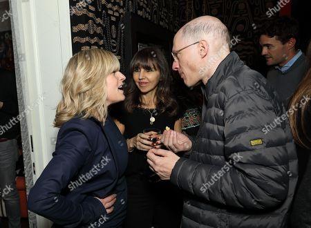 Rachel Johnson, Producer Henrietta Conrad and Alain de Botton