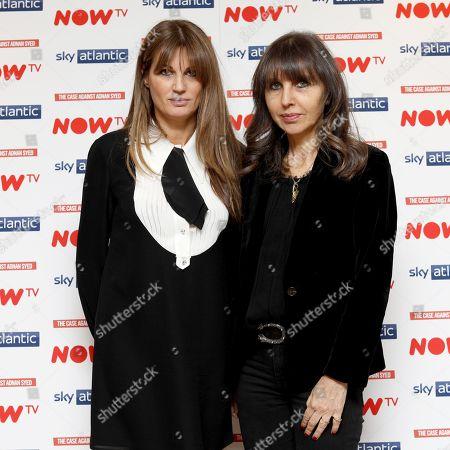 Jemima Goldsmith and Henrietta Conrad