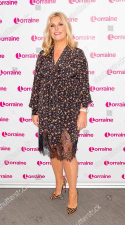 Editorial photo of 'Lorraine' TV show, London, UK - 26 Mar 2019