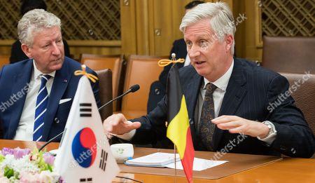 Editorial image of Belgian Royals state visit to South Korea - 26 Mar 2019
