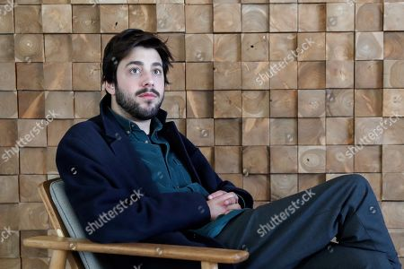 Salvador Sobral poses for the photographers during an interview with Spanish International News Agency EFE held in Madrid, Spain, 26 March 2019. Sobral presented his second album 'Paris, Lisboa'.