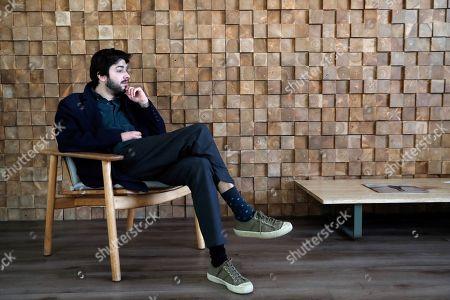 Editorial picture of Salvador Sobral presents his album 'Paris, Lisboa' in Madrid, Spain - 26 Mar 2019