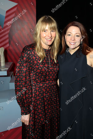 Amy Astley (Editor-in-chief of Architectural Digest), Dawn Roberson (National Events Director, DIFFA)