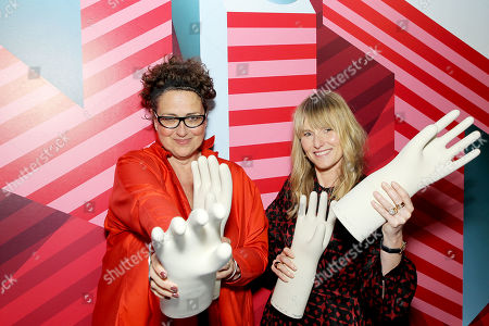 Cindy Allen (Interior Design's editor-in-chief), Amy Astley (Editor-in-chief of Architectural Digest)