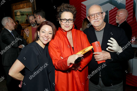 Dawn Roberson (National Events Director, DIFFA), Cindy Allen (Interior Design's editor-in-chief), David Sheppard